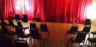 Studio ready for a student dance recital