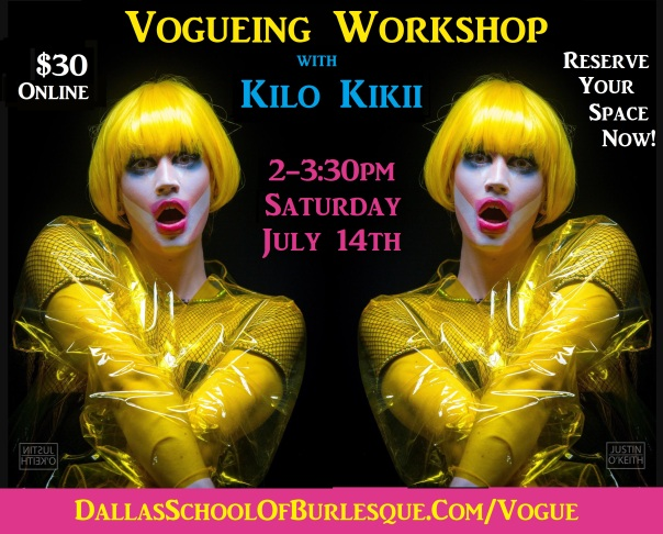 Vogueing workshop with Kilo Kikii