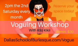 Voguing Workshops